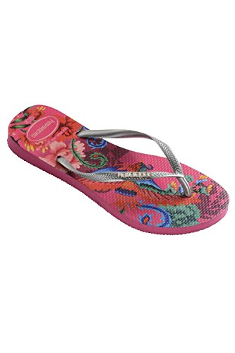 tropical Flop Logo Pop Orchid Havaianas Rose up Slim Flip Bleu AX5nqzwF
