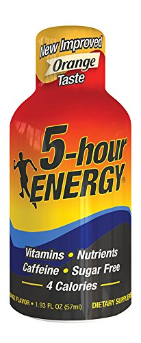 5 Hour Energy, Orange, 12 comte