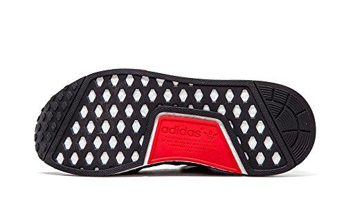 Adidas Mens Nmd_r1, Cblack / Dkgrey / Ftwwht, 10,5 M Us