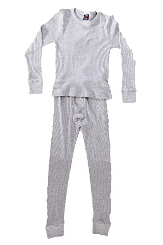 At The Buzzer Thermal Underwear Set For Boys 95362-Grey-7 ()