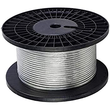 Semi-flex Coaxial cable,Tinned Copper Braid Jacket 50 ohm RG405 100ft