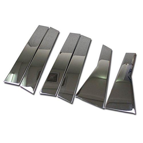 Beautost for Honda 2017 2018 2019 CR-V CRV Stainless Steel Door Window Whole Set Frame Trims ()