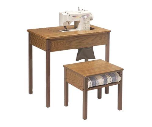 Fashion Sewing Cabinets Model 433 Econo Space Saver School Sewing Desk Rustic (Econo Desk)