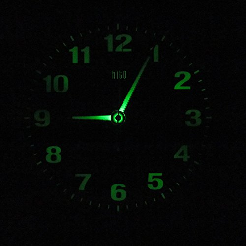 Silent Non ticking Glowing Luminous Numerals product image
