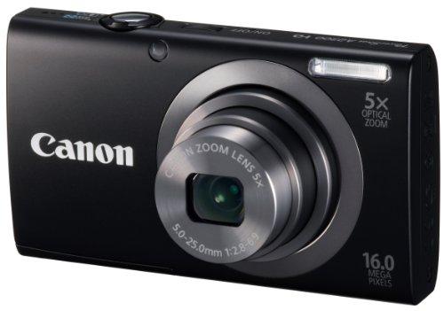 Canon Digital Camera PowerShot A2300 (Silver) 5X Optical Zoom 16MP PSA2300 - International Version