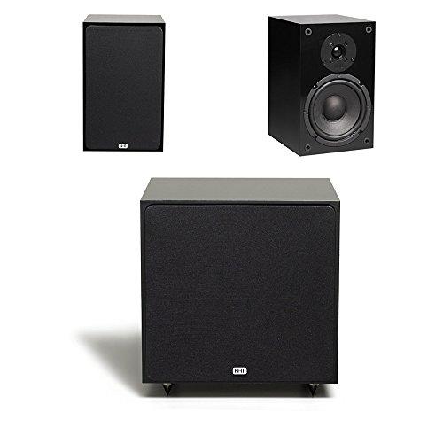 NHT Audio SuperOne 2.1 Bookshelf Speaker Black