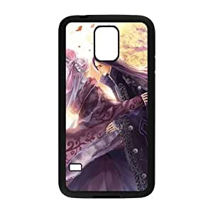 Haoyou Wide funda Samsung Galaxy S5 caja funda del teléfono celular del teléfono celular negro cubierta de la caja funda EEECBCAAG09580