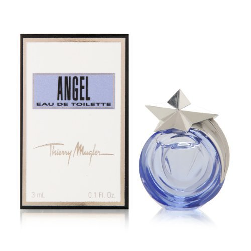 ANGEL Eau De Toilette Les Cometes by Thierry Mugler 3ml/.1 oz Women MINI (0.1 Ounce Edt Mini)