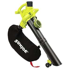 Sun Joe IONBV-XR 40V 5.0 AH Variable-Speed Cordless Blower/Vacuum/Mulcher with Brushless Motor