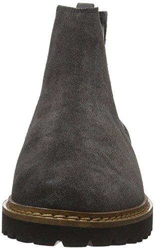 Sioux Vesela, Zapatillas de Estar por Casa para Mujer Gris - Grau (Asphalt)