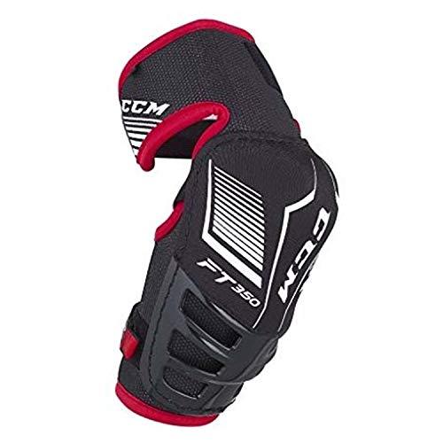 unior Elbow Pads Black/Red M ()