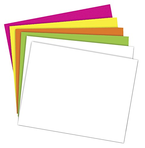Poster Paper Board (School Smart 1371700  Poster Board - 11 x 14 - Pack of 50 - Assorted Neon Colors)