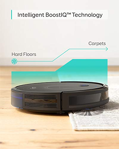 eufy [BoostIQ] RoboVac 15C, Wi-Fi, Upgraded, Super-Thin, 1300Pa Strong Suction Quiet, Self-Charging Robotic Vacuum Cleaner, Cleans Hard Floors to Medium-Pile Carpets