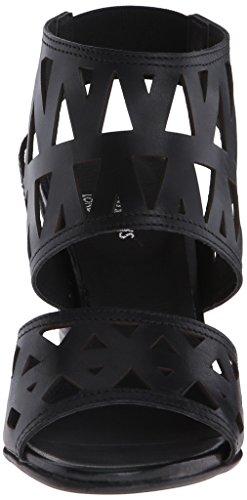 Shellys Women's Sandal London Heeled Sharon Black rPr6qx1w