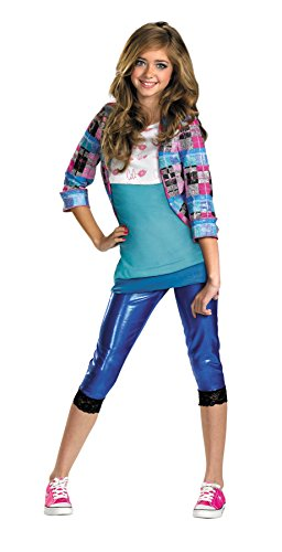 Shake It Up Cece Classic Child Costumes (Girls Shake It Up Cece Classic Kids Child Fancy Dress Party Halloween Costume, L (10-12))