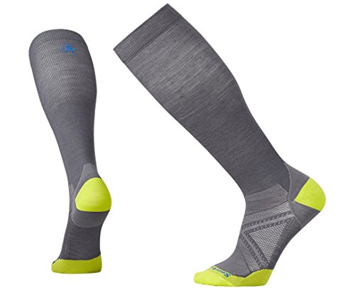 Smartwool Men's PhD Graduated Compression Ultra Light Socks (Graphite) Medium