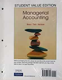 managerial accounting wendys Managerial accounting fifteenth edition ray h garrison, dba, cpa professor   university of delaware wendy coons, university of maine michael cornick,.