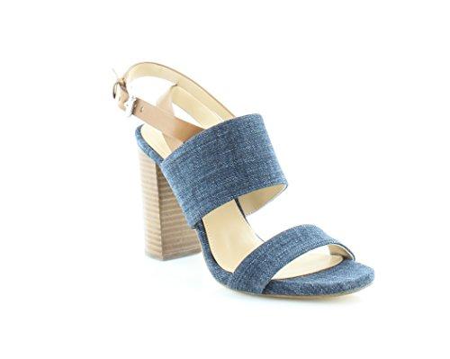 Michael Kors Arden Sandal Women's Sandals & Flip Flops Indigo/Acorn Size 7.5 M