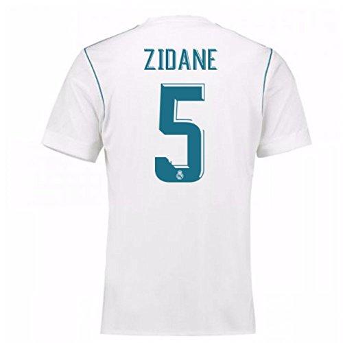 2017-18 Real Madrid Home Shirt - Kids (Zidane 5)