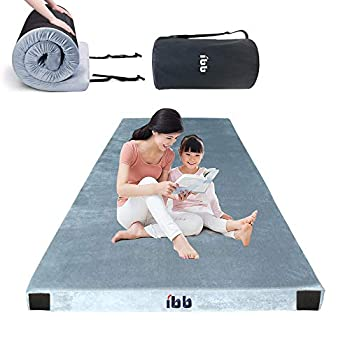 Image of Foam Pads Portable Foam Sleeping Pad Memory Foam Camping Mattress for Travel Bed Pad - Guest Sleeping Mattress - Cots Bed for Camping- Spliced Mattress Camping Memory Foam come with Travel Bag and Knee Pillow