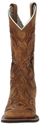 Laredo Women's Spellbound Western Boot Square Toe Tan 9 M by Laredo (Image #4)