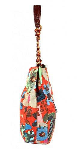 Oilily Painterly L Shoulder Bag Cinnamon