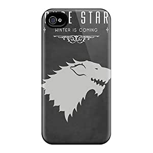 Premium LMs2030WpjD Cases With Scratch-resistant/ House Stark Cases Covers For Iphone 6plus
