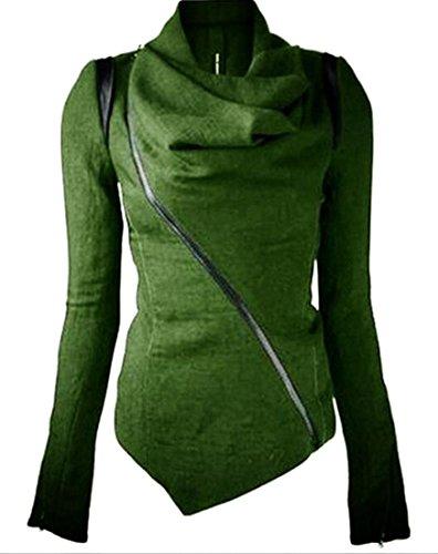 womens cowl neck jacket - 3