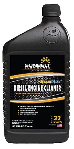 Sunbelt Lubricants CASE_SM5532 SunMax Diesel Engine System Cleaner, (32 oz. Treats 32 quarts of Oil), Case of 12-32 oz. Bottle by Sunbelt Lubricants