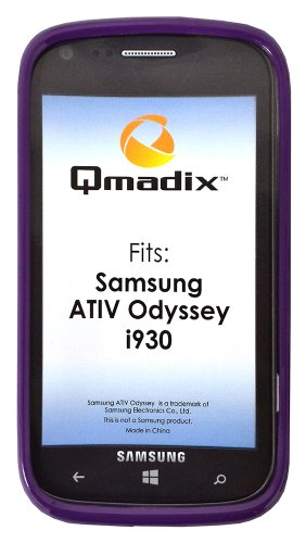 (Qmadix Flex Gel Cover for Samsung ATIV Odyssey i930 - 1 Pack - Retail Packaging -)