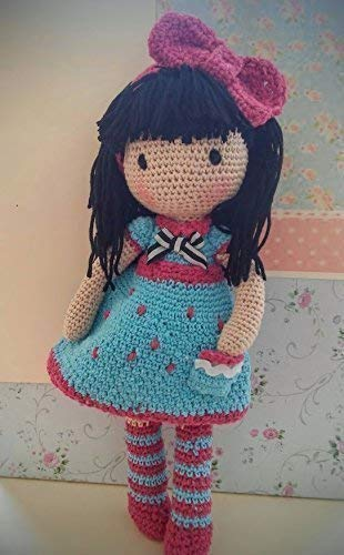 Muñeca Mariquilla a crochet. Amigurumis.: Amazon.es: Handmade