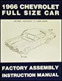 1966 Chevy Car Assembly Manual Biscayne Bel Air Impala El Camino Nomad Chevrolet 66 (with Decal)