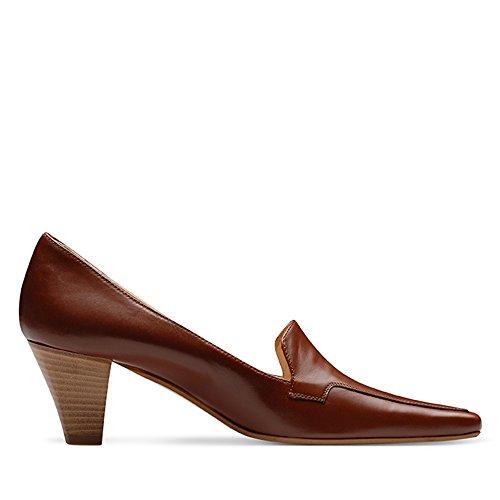 Evita Shoes - Zapatos de vestir de Piel para mujer Marrón - marrón