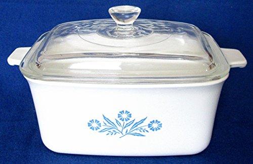 Corning Ware Cornflower Blue, Royal Buffet Server, P-4-B - Dish Buffet Casserole