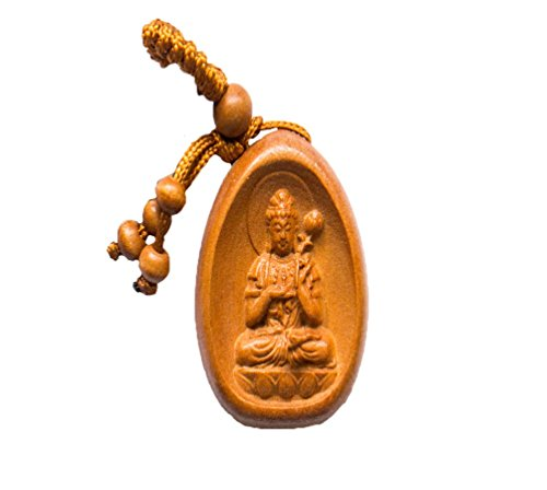 Handmade Rosewood 8 Laughing Buddha Lucky Charm, This Amulet Bring Good Luck, Money and Love in Your Life, Crafted at Thailand Temple (F)