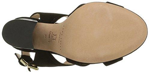 Pura Lopez Ah341 Damen Sandalen Schwarz - Noir (Velour Noir)