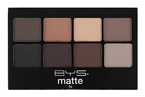 BYS Eyeshadow Makeup Palette 8 Shades- Matte Neutrals
