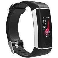Fitness-Tracker Athletic - Sport-Uhr mit integriertem GPS, 24h-Herzfrequenz-Messung, Multi-Sport,GPS-Uhr mit Farbdisplay, Armband mit Uhren-Verschluss, Wasserdicht IP67 (schwarz)