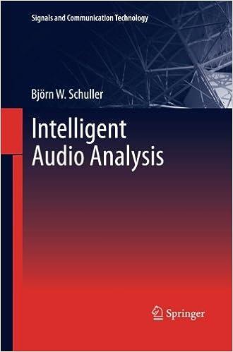 Book Intelligent Audio Analysis (Signals and Communication Technology)