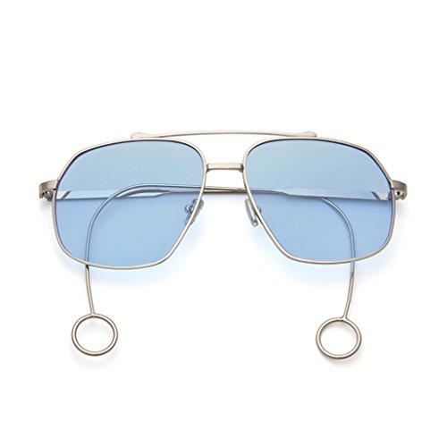 36aa6c423b Taiyangjing HAIYING Gafas De Sol Retro Eyewear Gafas De Marco Cuadrado Gafas  De Sol De Gran Tamaño ...