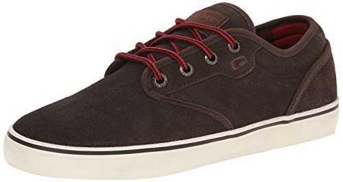Globe Mens Motley Skate Shoe, Dark Brown, 7 M US
