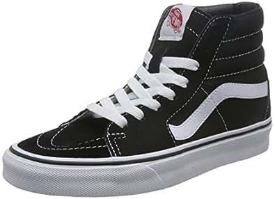Vans Sk8-Hi Black White Skate VN-0D5IB8C Mens US 5