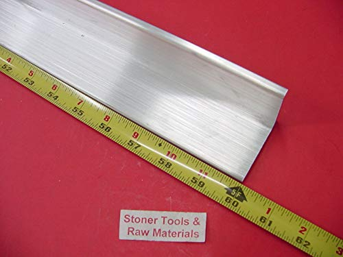2''x 2''x 1/4'' Aluminum 6061 Angle BAR 60'' Long T6 Extruded Mill Stock .25'' Thick