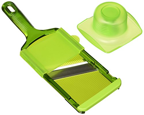 Kuhn Rikon Dual Slice Mandoline, 11-Inch, Green - Kuhn Rikon 11 Inch
