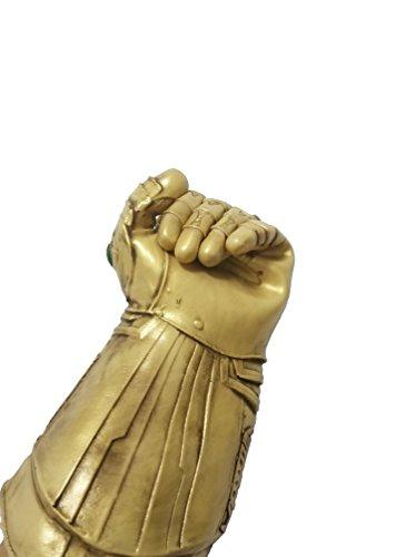 baellerry Infinity War Thanos Infinity Gauntlet Gloves Halloween Costume Thanos Glove Gold (Gold)