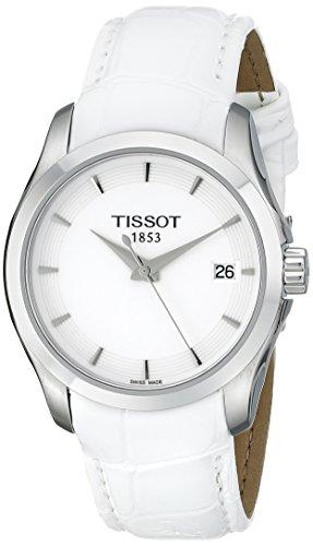 [해외] [T 소] TISSOT 손목시계 입리에 쿼츠 화이트 문자판 레져 T0352101601100 레이디스 [정규 수입품]