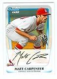 Matt Carpenter baseball card (St Louis Cardinals) 2011 Topps Bowman #BP66 Rookie Card