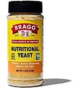 Bragg Nutritional Yeast Seasoning – Vegan, Gluten Free Cheese Flakes – Good Source of Protein & V...