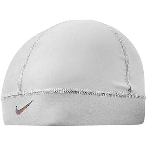 Nike Pro Combat Skull Cap (White/Cool Grey, ()