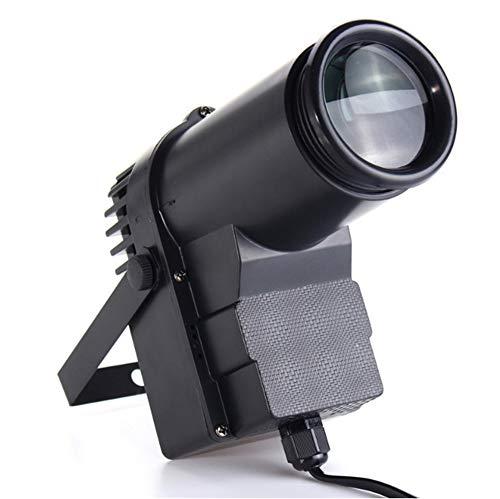 YiaiY 4 in 1 Stage Lighting, DMX Full Color LED Spotlights, Glass Ball Spotlights, Bar Beam Lights,Black